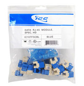 MODULE, CAT 5e, HD, 25 PK, BLUE