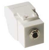 MODULE, STEREO AUDIO, 3.5 MM, WHITE