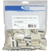 110 CONNECTING BLOCK, 5-PAIR, 100 PK