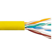 CAT5e CMR PVC CABLE YELLOW