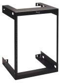 RACK, WALL MOUNT, 18in DEEP, 15 RMS