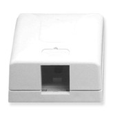 IC107SB1WH - SURFACE BOX 1PT White
