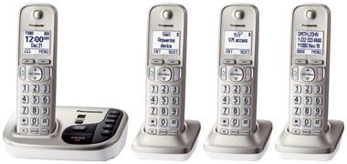 DECT 6.0, 4 handsets, Talking CID, ITAD