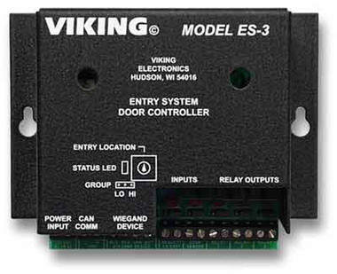 Entry System Door Controller for AES