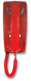 Hot Line Wall Phone - Red