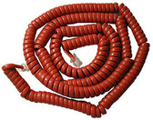 Cablesys GCHA444025-FCR / 25' RED Handset Cord 2500RD