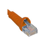 ICC PATCH CORD, CAT 5e, MOLDED BOOT, 1' OR ICPCSJ01OR