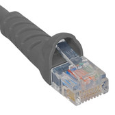 ICC PATCH CORD, CAT 5E BOOTED, 25 FT, GRAY ICPCSJ25GY