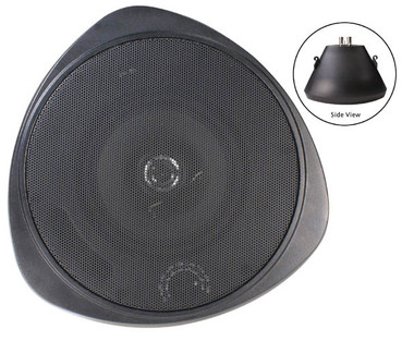 SPECO 30Watt 5.25[dquote]Pendant Speaker and Chain BK SP30PTB