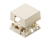 Steren 4C Ivory Dual Surface Jack UL 301-146IV