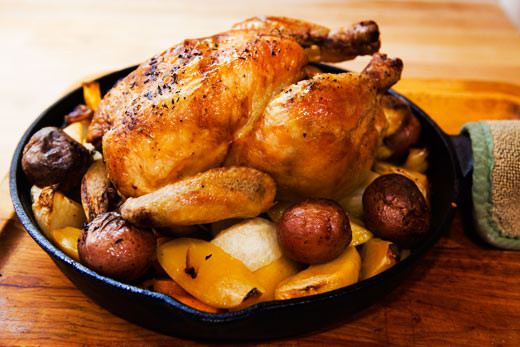 Picture from Simply Recipes: Keller's Roast Chicken