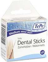 Tepe Linden Medium Dental Sticks - Soft & Pliable -125 Pack