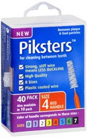 Piksters Red Size 4 - 40 pack