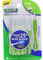 GUM Go-Betweens Tight Proxabrush Cleaners Interdental Brushes - 8 Pack