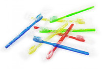 Pre-Pasted Travel Toothbrush