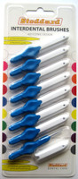 Stoddard ICON Soft Interdental Brushes X Fine -3mm Blue - 8 Brush Pack