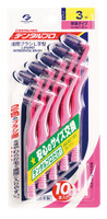 DentalPro Size 3 (S) L-Shaped Interdental Brushes 10 - Bulk Pack