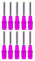 Stoddard 3-WAY Soft Proximal Brushes XXXXFine -1.8mm Pink Refills - 10 Brushes