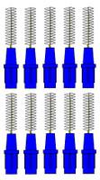 Stoddard 3-WAY Soft Proximal Brushes XFine -3.0mm Blue Refills - 10 Brushes
