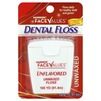 Harmon Unwaxed UnFlavored Floss - 100yds