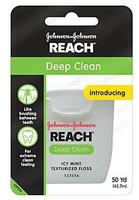 Reach Deep Clean Floss - 50yds