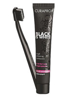Curaprox Black is White Toothpaste and Toothbrush CS 5460 set