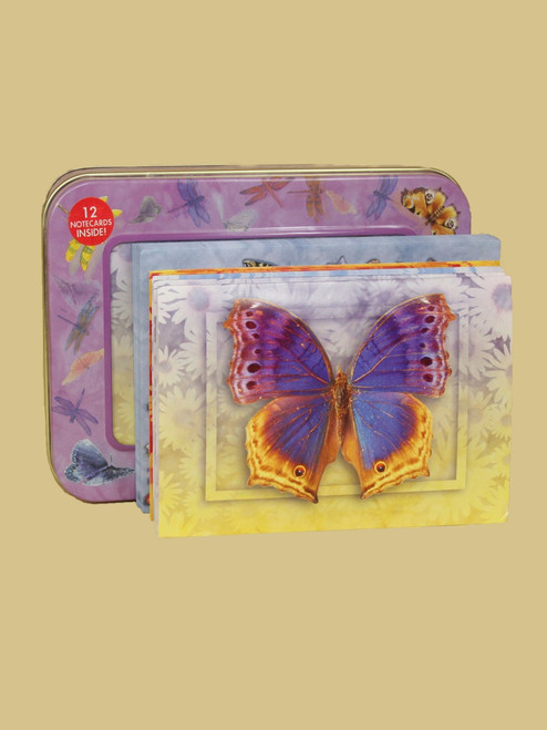 Butterfly Visions Cards Tin Box