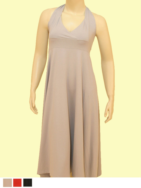 Tulip Halter Dress  - Organic  Blend