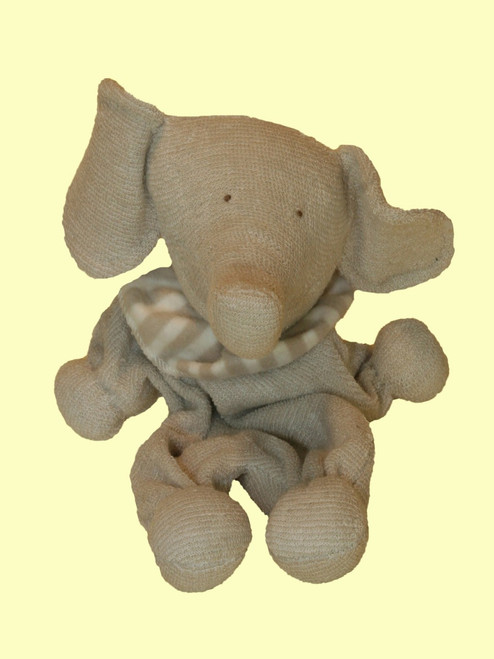 Elephant Toy  . Certified Organic Cotton - Fair Trade