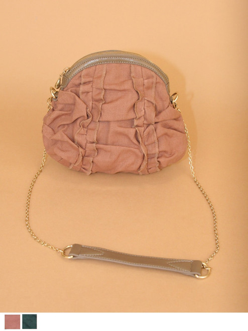 Mona Mini Shoulderbag - Hemp