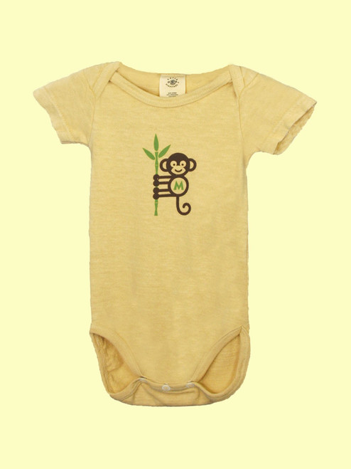 Monkey Business Onesie - 55% Hemp /45% Organic Cotton