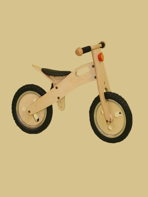 Natural Wooden Training Bike