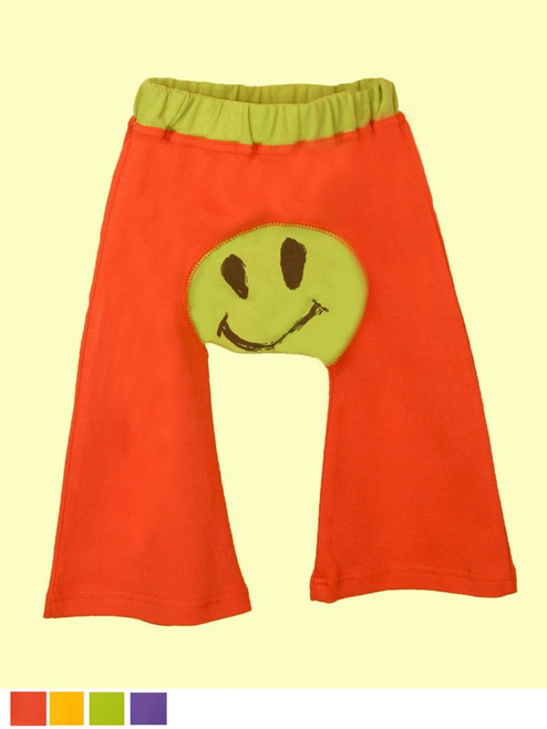 Baby Ha-Ha Smile Pants . Organic Cotton - Fair Trade