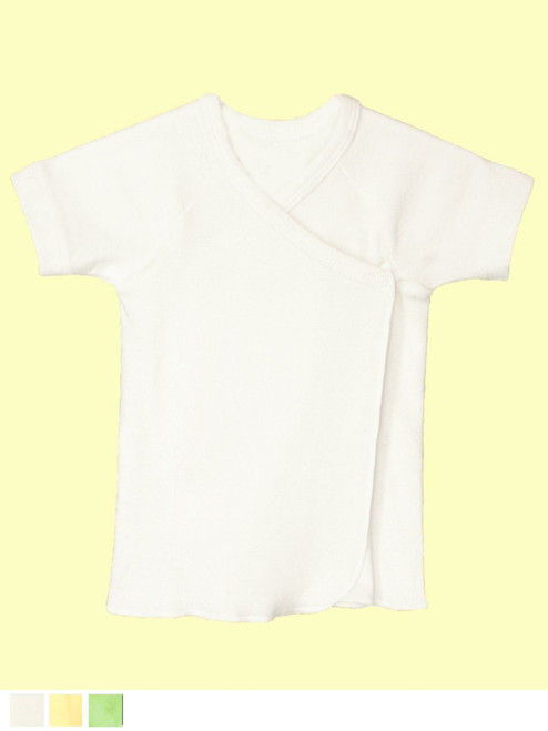 Short Sleeve Undershirt . Organic Cotton - Fair Trade
