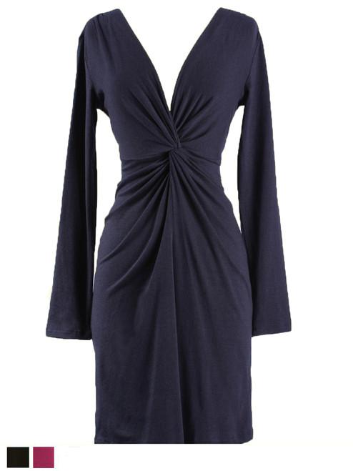 Twist Dress - Bamboo Jersey