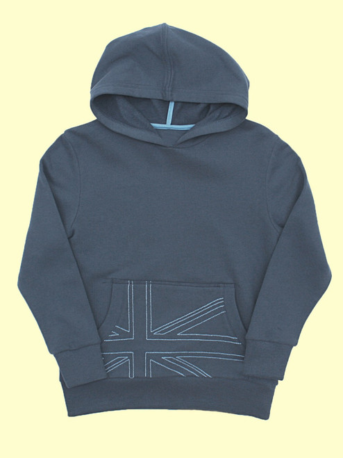 Union Jack Hoody - Organic Cotton