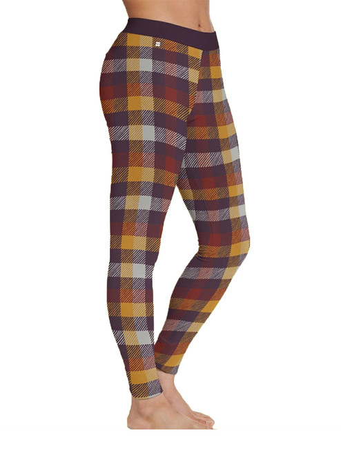 Portland Plaid Leggings - Organic Cotton