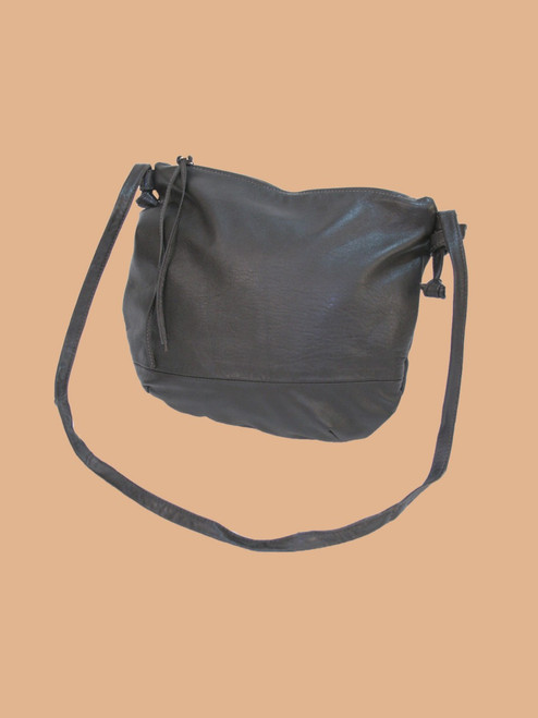 Dark Brown Everyday Recycled Leather Handbag
