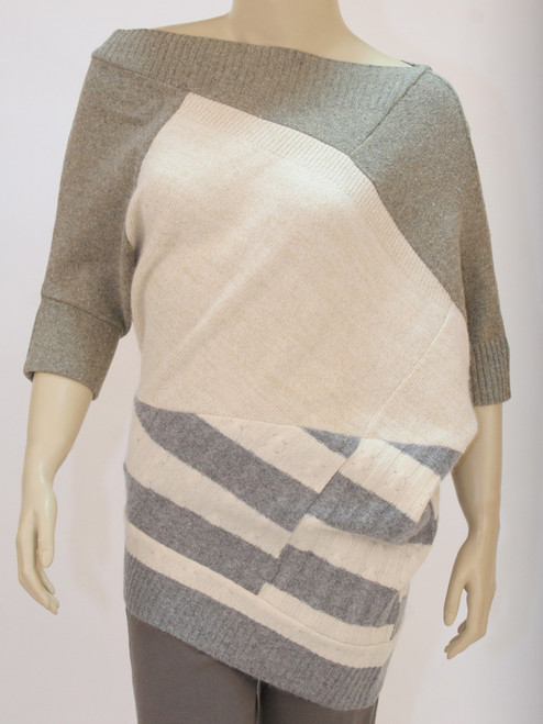Jo Sweater Vanilla Frosting - Recycled Material