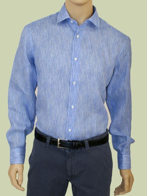 Tate Candy Stripe Print  Long Sleeve Shirt