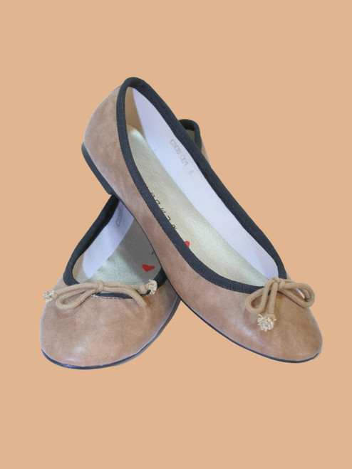 Pepper Ballet Flat Shoes - Vegan Leather