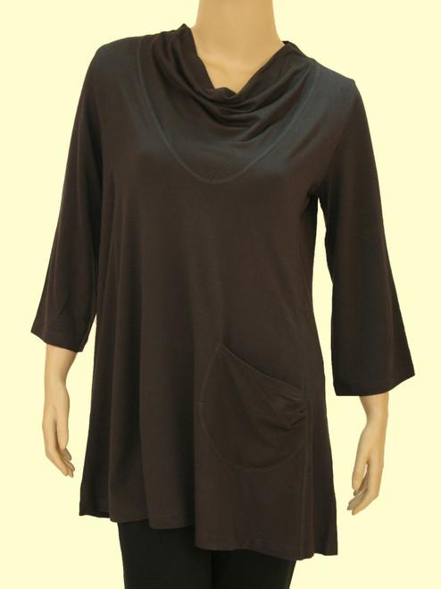 Women's Plus Size I Want It Tunic Dress - Bamboo Viscose