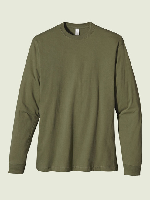 Men's Classic L/S Washed Tee - Certified Organic Cotton