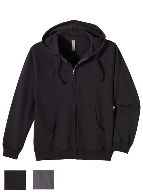 Men's Zip Hoody - 80% Organic Cotton & 20% recycled polyester