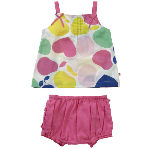 Primrose Pear Baby Girl Set . Organic Cotton - Fair Trade