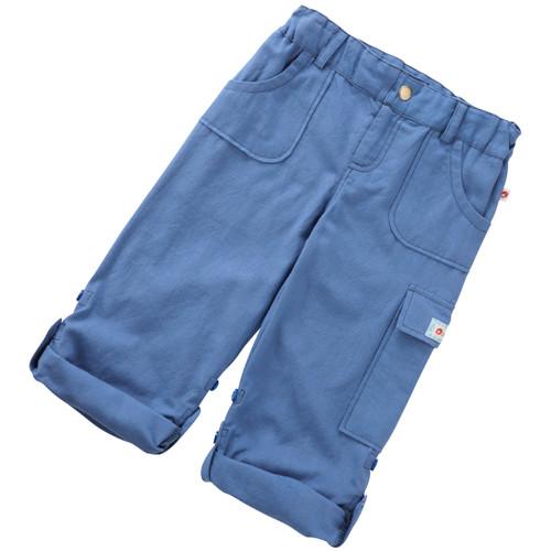 Oxford  Roll-Up Pants . Organic Cotton-Fair Trade