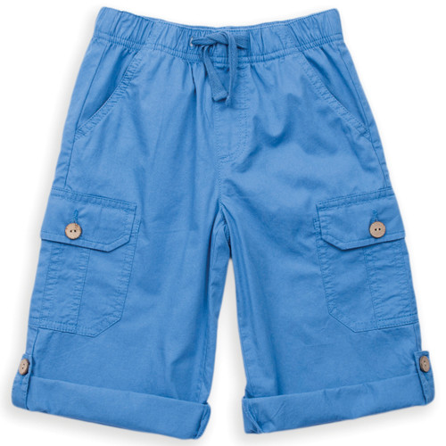 Organic Cotton Boys 3/4 Roll Up Short - Fair Trade