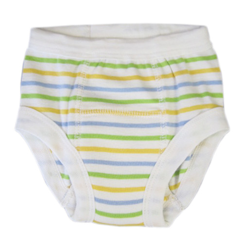 Organic Training Pants for Babies & Toddlers - Sherbet Stripes