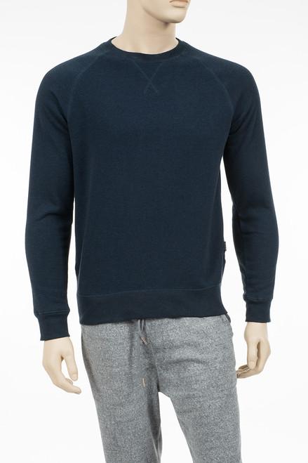 Basic Fleece Crew Neck Sweatshirt - Organic Cotton & Recycled Polyester