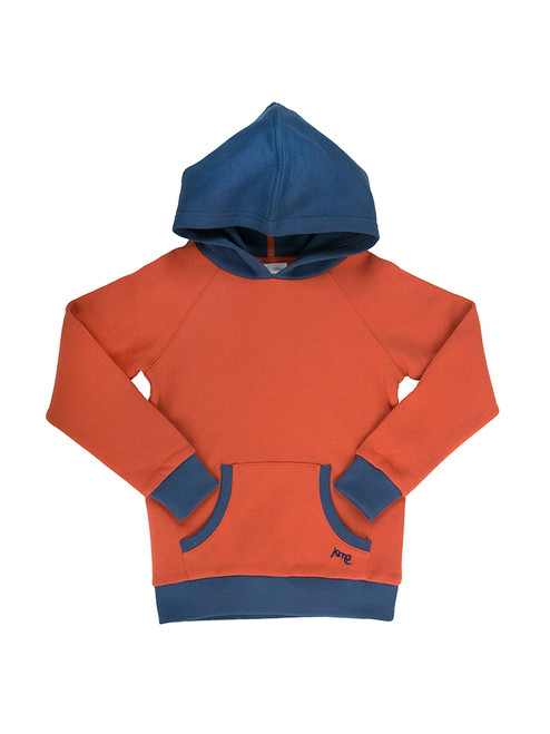 Boy's Contrast Trim Hoody - Organic Cotton
